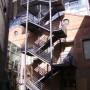 Escalera exterior Museo Nacional de Ciencias Naturales (Madrid)